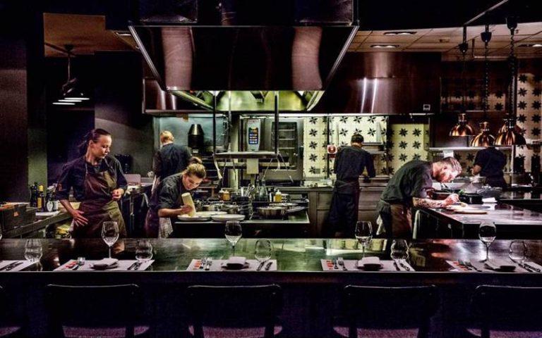 Chefs table på Grilleriet