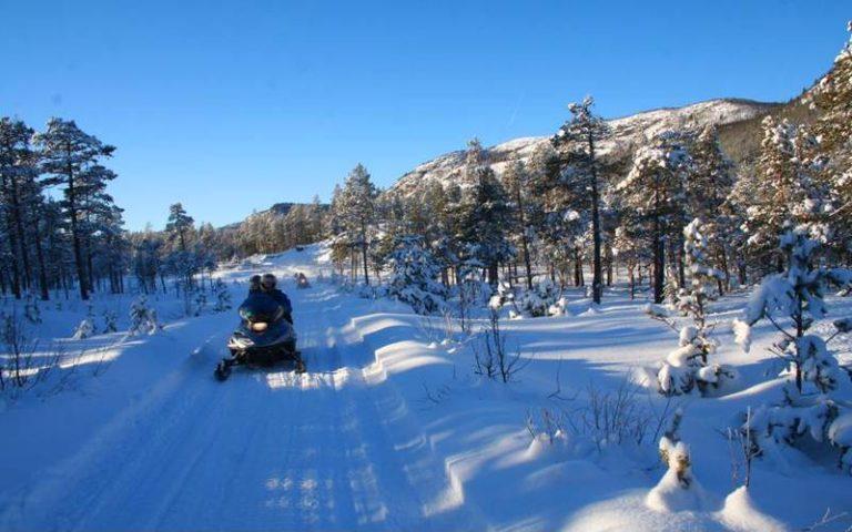 Snøscootersafari på Geilo